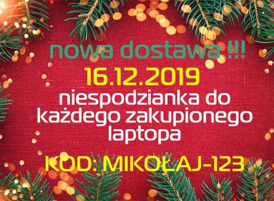laptopy poleasingowe - świąteczna dostawa